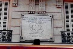 Placa indicativa del sitio